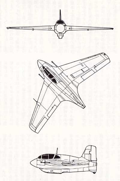 悲劇のロケット戦闘機「秋水」