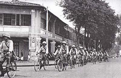 仏印(ベトナム)進駐の写真集