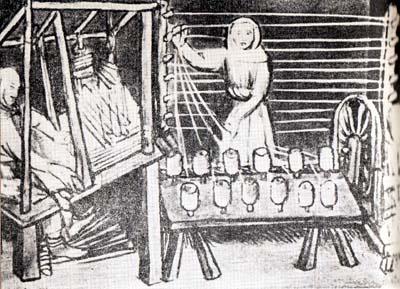 水力紡績機