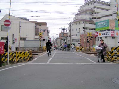 自転車の 蒲田 自転車置き場 : 東海道線 大井町~蒲田駅付近